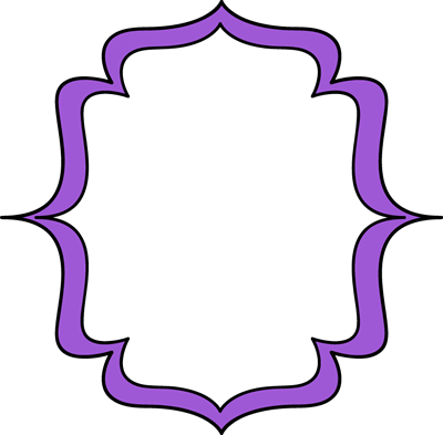 Purple Double Bracket Frame