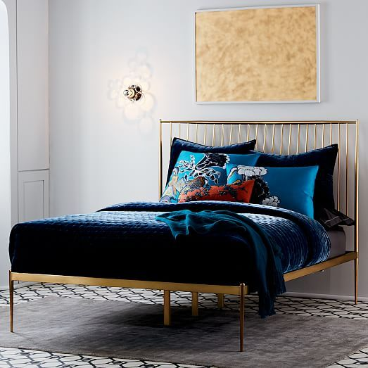 Stella Metal Bedset King Br With