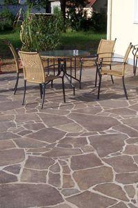 Terrassenplatten verlegen schritt f r schritt anleitung terasse - Steinfliesen terrasse ...