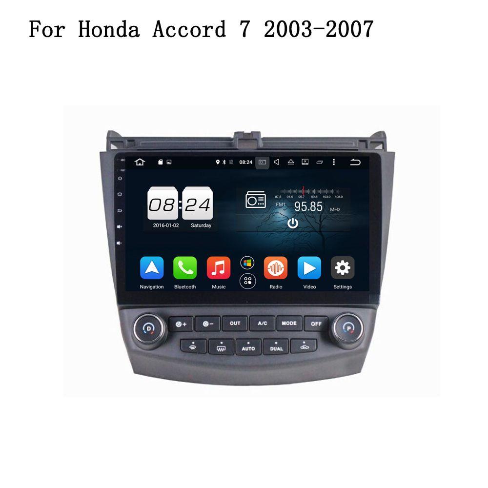 Android 601 Car Player Gps Navi Multimedia Head Unit For Honda Accord 7 2003