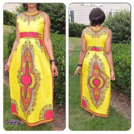 Yellow Dashiki African Print Maxi Dress #fashion #style #stylish #fashionlook #fashionmodels #photooftheday #fashiontrend #fashionphoto #beauty #beautiful #fashionshop #fashionworld #fashionstudy #fashiondress #fashionshoot #fashionmodel #fashiondaily #fashionlife #fashionstylist #fashiongirls #afrikanischerdruck Yellow Dashiki African Print Maxi Dress #fashion #style #stylish #fashionlook #fashionmodels #photooftheday #fashiontrend #fashionphoto #beauty #beautiful #fashionshop #fashionworld #fa #afrikanischerdruck