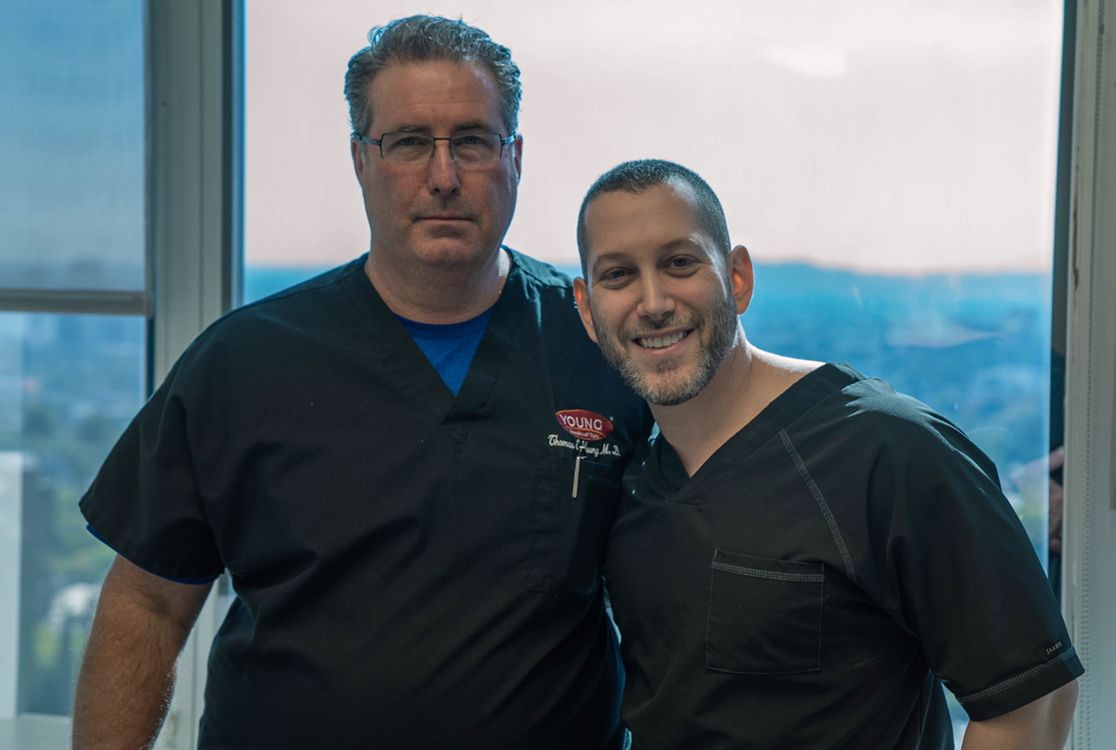 Dr  Young is in Beverly Hills today visiting with Jason Emer