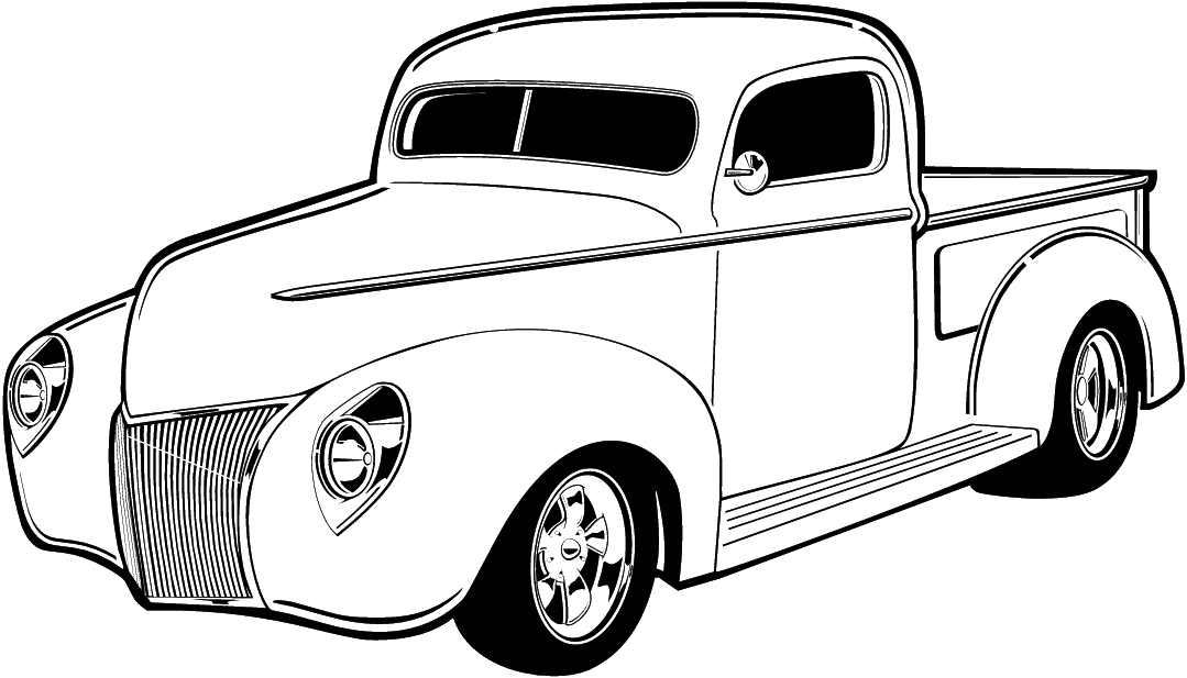how to draw cars easy vintage trucks cars and nice rh pinterest com vintage car and christmas tree clip art vintage car clip art free