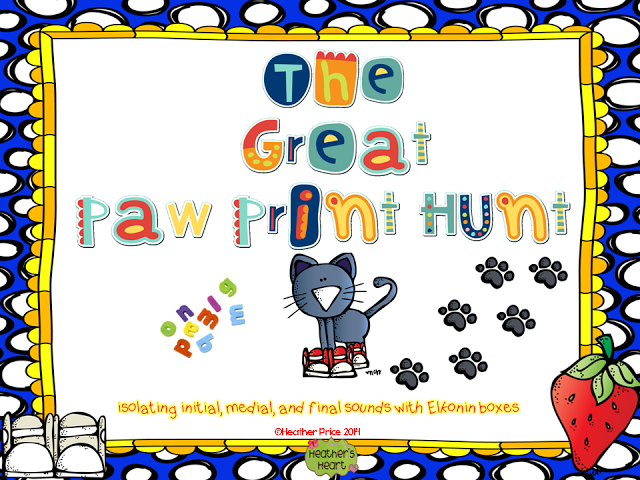 Heather\'s Heart: The Great Paw Print Hunt with Pete the Cat | Pete ...