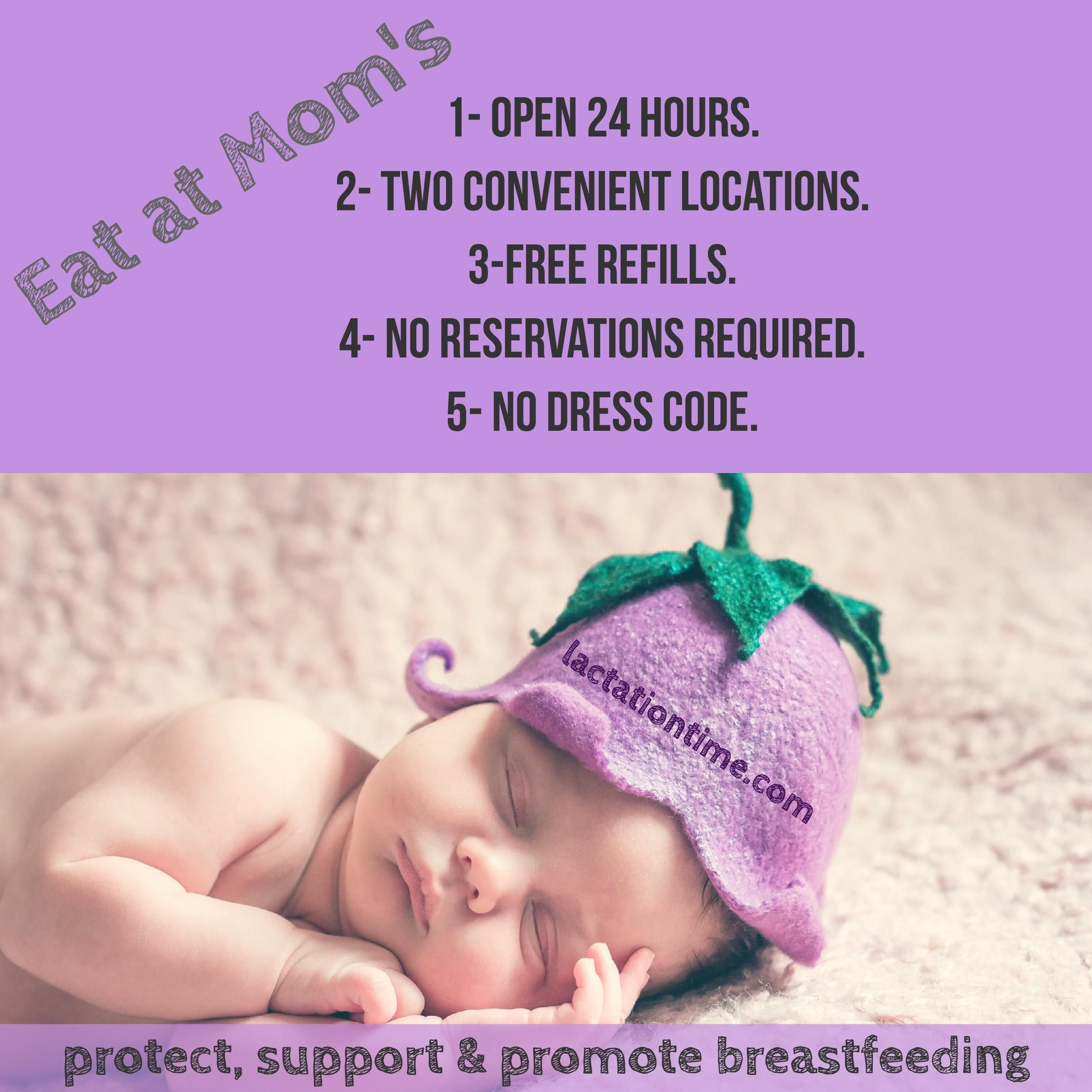 Eat At Mom S Breastfeeding Promotion Breastfeeding Mom