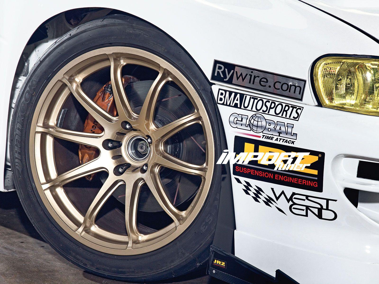 Subaru WRX with Brembo brakes