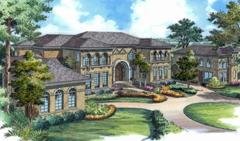What Does It Mean To Dream About Houses And Homes Dreamhouserooms With Images Mediterranean Mansion Mediterranean Style House Plans