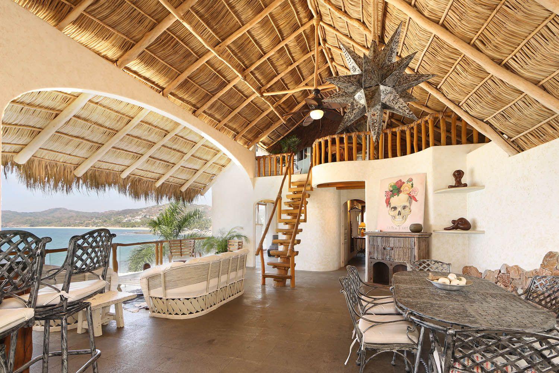 Cinema 3BR Luxury Mexico Villas Oceanfront vacation