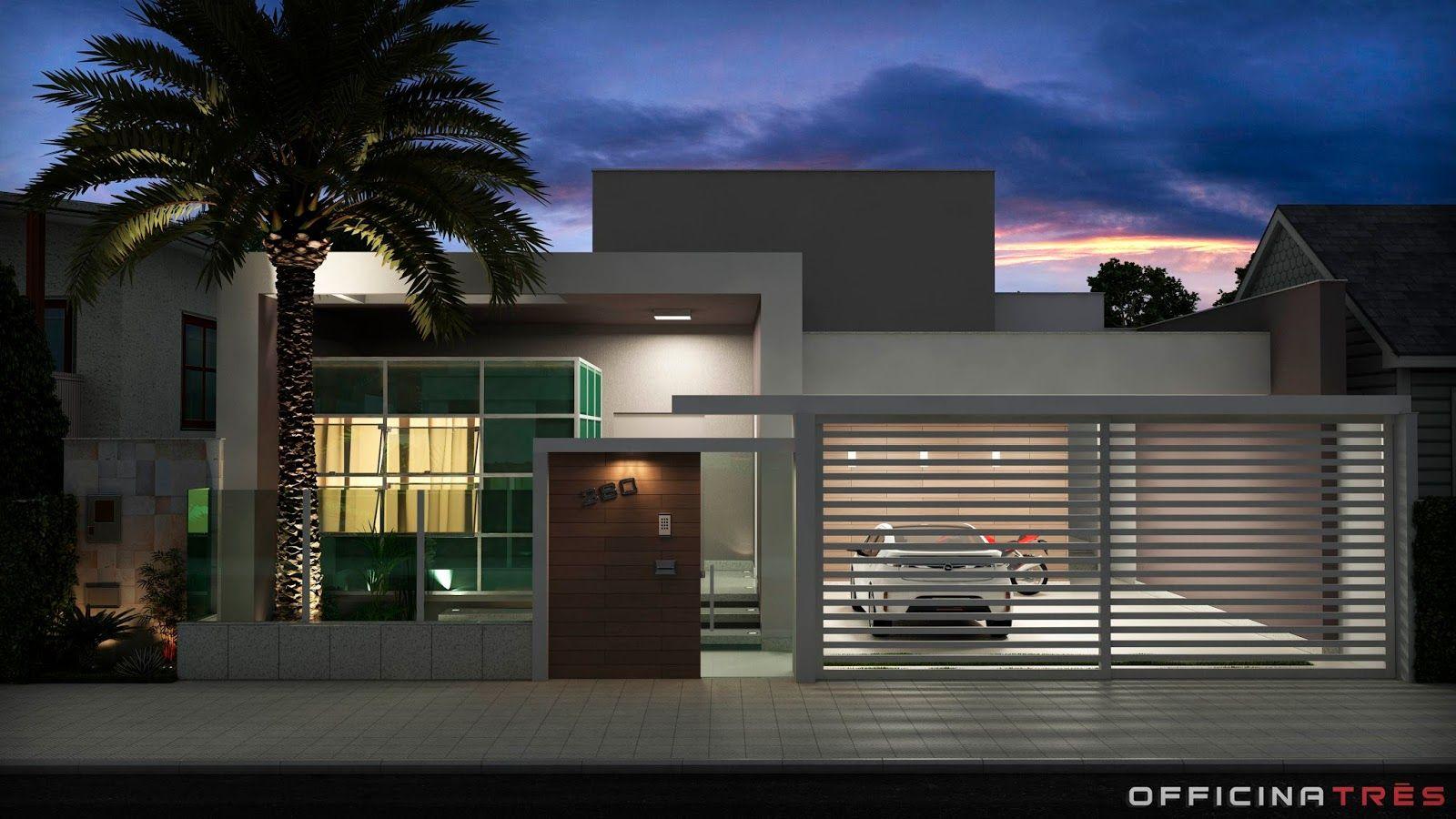 Modelos de casas modernas geralmente s o associados a for Modelos de casas modernas