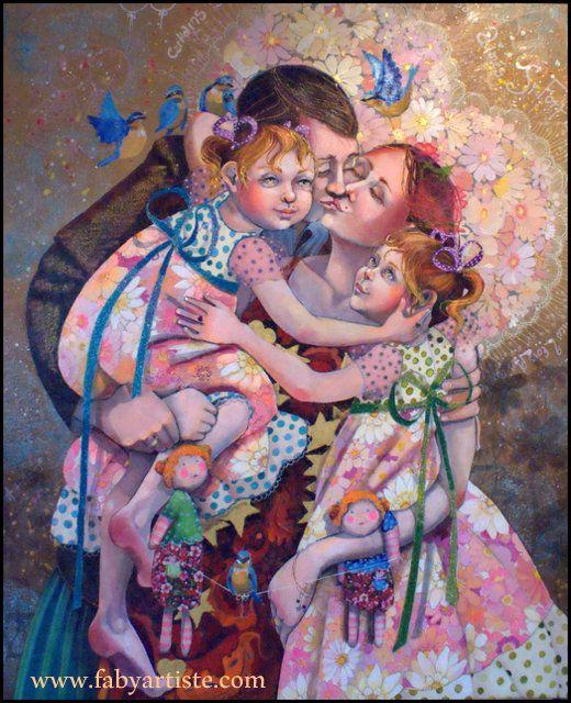"""Faby artiste peintre - """"Graine deux soeurs !"""""""