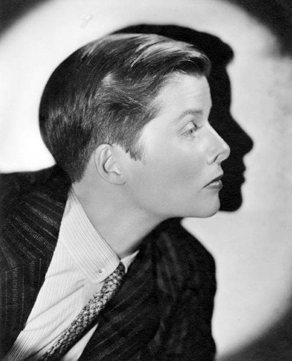 Katharine Hepburn in a publicity photo for Sylvia Scarlett (George Cukor, 1936) by Ernest Bachrach