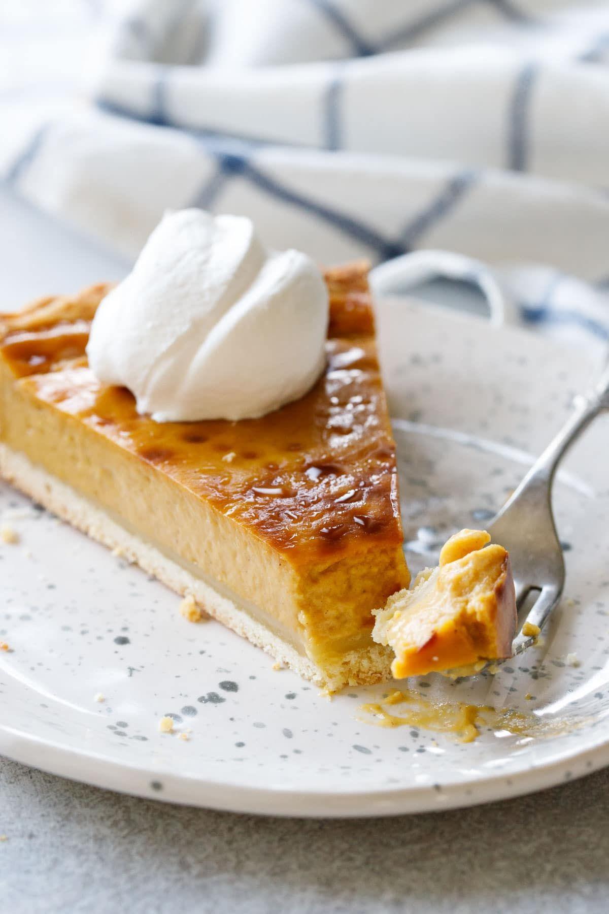 Pumpkin Custard Tart Love And Olive Oil Recipe Thanksgiving Food Desserts Pumpkin Custard Thanksgiving Desserts Easy
