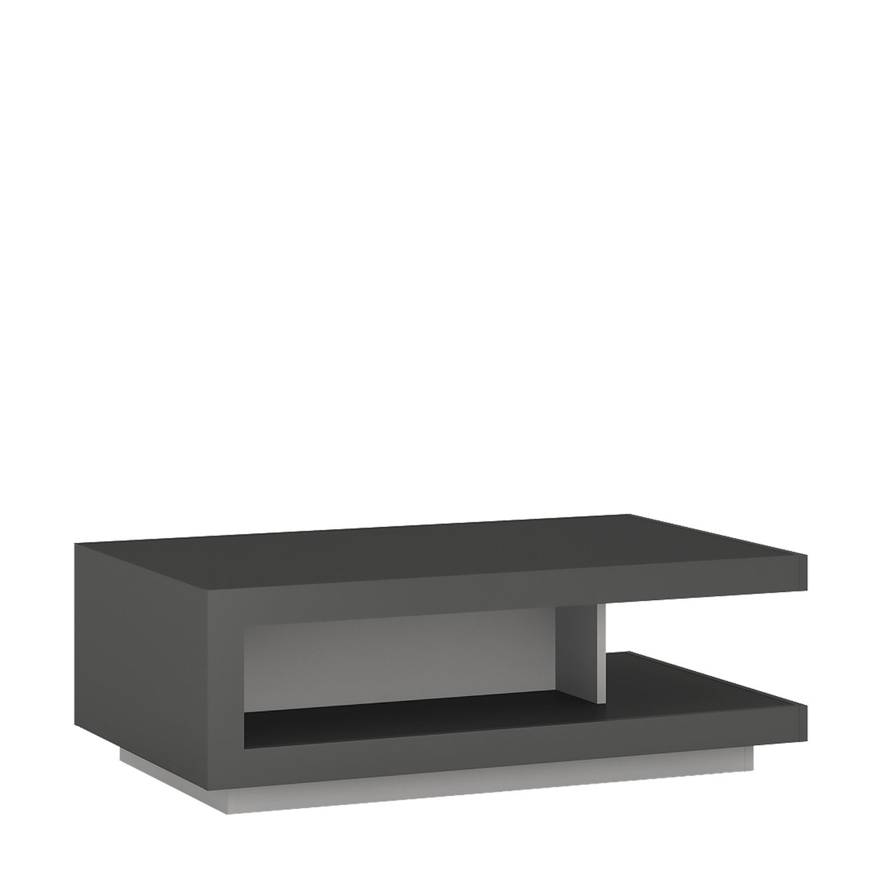 The Brooklyn Dusk Coffee Table Stationary Coffee Table Modern Furniture Living Room Coffee Table Furniture