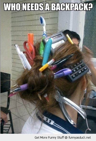 Funny Hair Jokes : funny, jokes, Funny, Schools, Stuff, Jokes, Crazy, School,, Days,