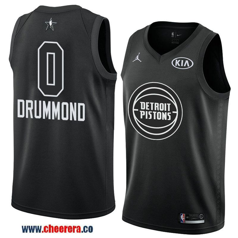 men s game swingman detroit pistons  0 andre drummond black 2018 nba  all-star jersey e17222774