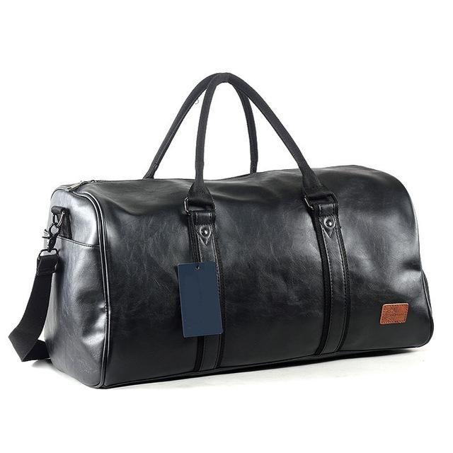 Sports gym bag Men s PU Leather Gym Bag Male Big For Fitness Men Women  Handbags Training Shoulder Bag With Shoes Pocket Sac XA674WD KO 5 1 f38a992b96