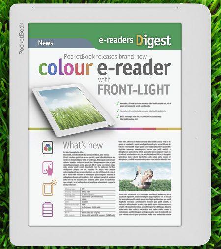 Pocketbook Unveils First Ereader With Color E Ink Screen And Frontlight Pocket Book Ereader Pen And Paper