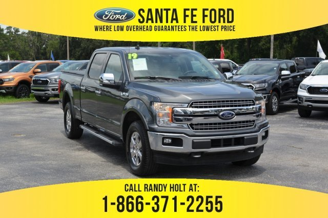 Used Ford 4x4 Trucks For Sale >> Used 2019 Ford F 150 Lariat 4x4 Truck For Sale Gainesville