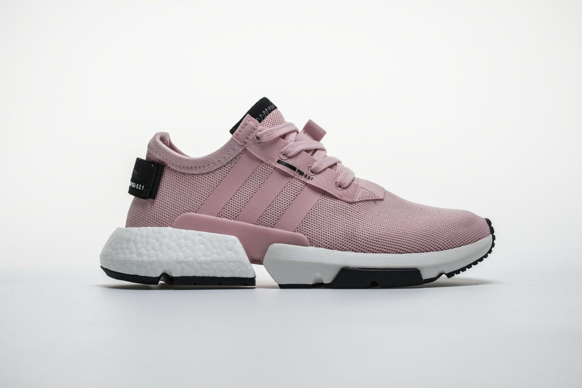 Adidas POD S3.1 Boost B37468 Pink White Black Girls Shoes