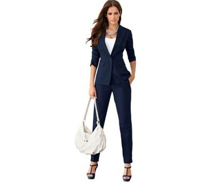 Royal Blue Ladies Suit Jacket | womens suit jackets | Pinterest ...