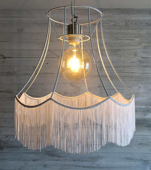Http Www Imperiallighting Co Uk Modern Lamp Shades Zorita White Frame With White Fringe H Modern Lamp Shades Traditional Lamp Shades Contemporary Lamp Shades