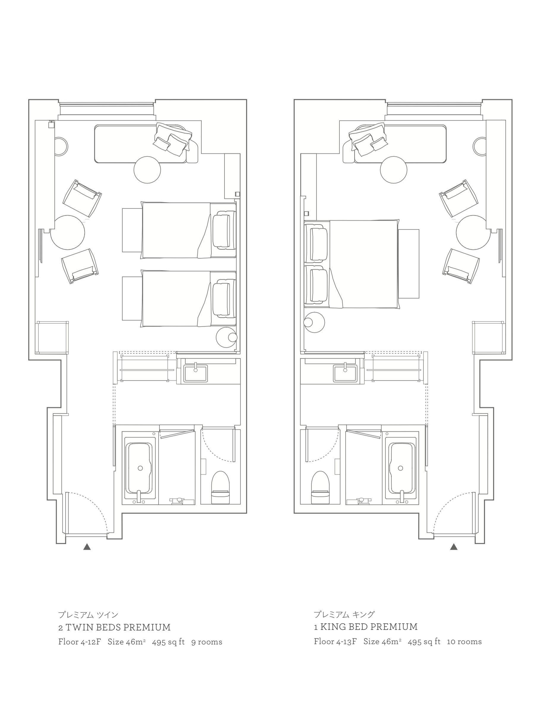 Hyatt Centric Kanazawa Premium Room Hotel Room Design Plan Hotel Room Design Hotel Room Plan 4x6 . room plan