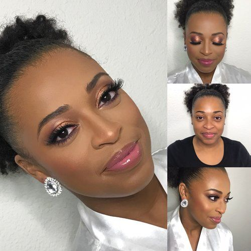 Bridal Makeup For Black Women Houston Tx Makeup Artist Www