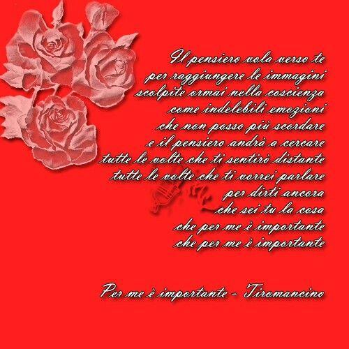 Per me é importante - Tiromancino