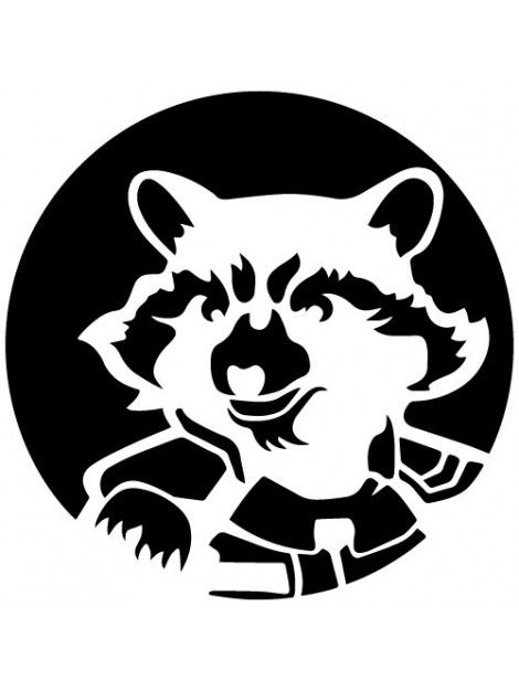 Raccoon Rocket Lineart Поиск в Google 2 Резка Сталь
