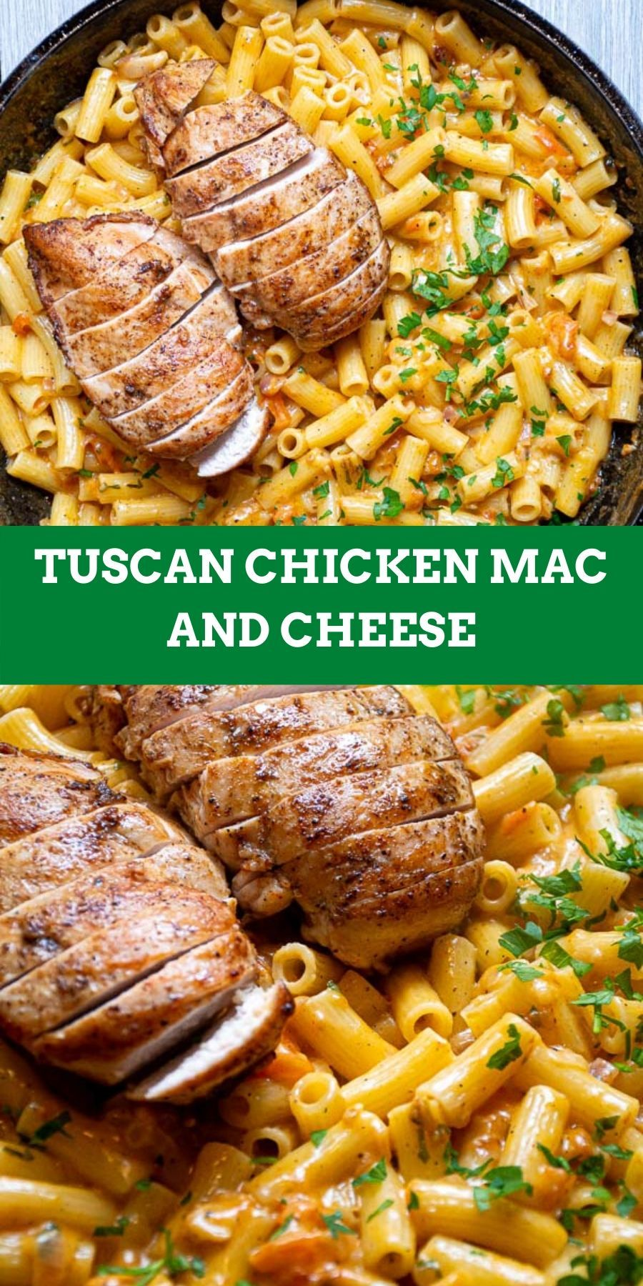 Easy TUSCAN CHICKEN MAC AND CHEESE (SUPER CREAMY)