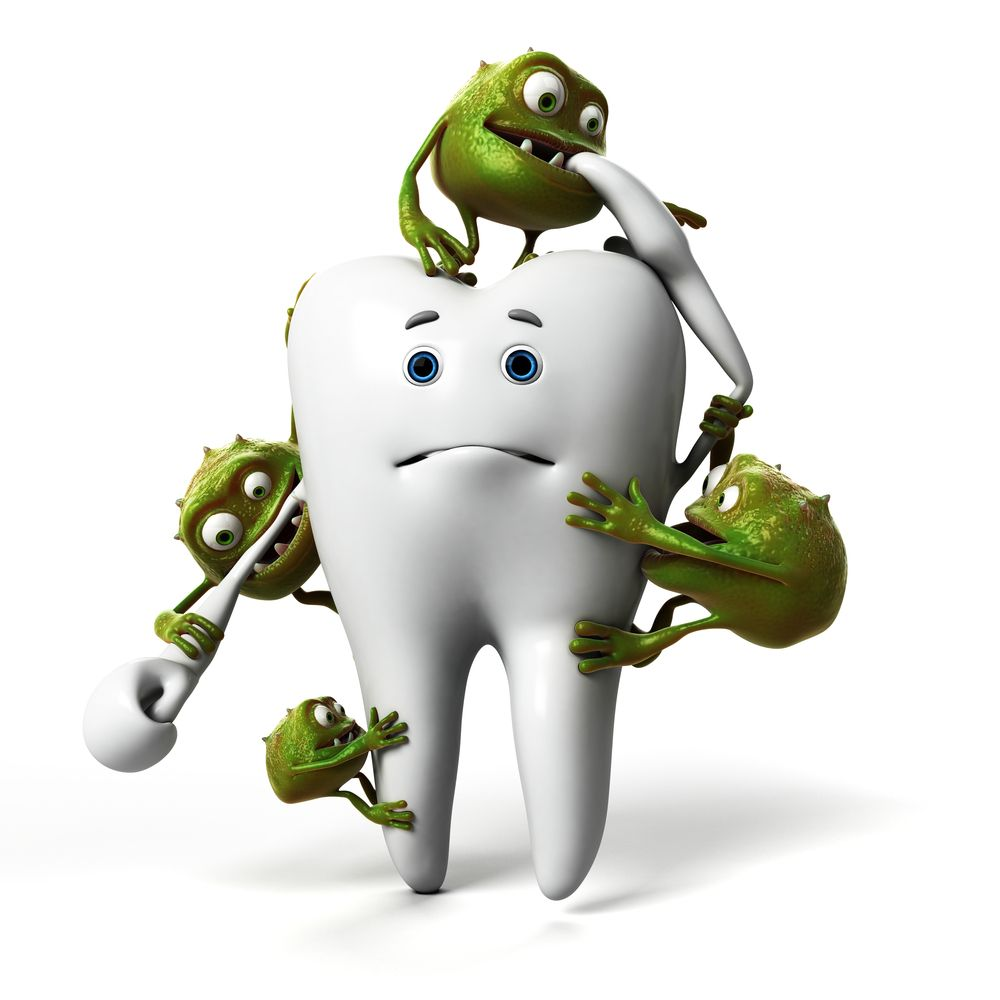 Mouth Bacteria (not sugar) Are Rotting Your Teeth Baby