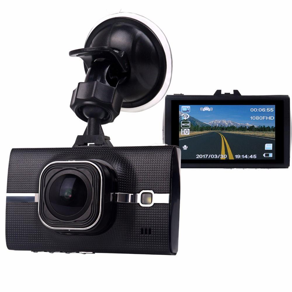 "3.0/"" Wide Angle 1080P Full HD Car Dash Cam Windshield DVR Camera Voice Recorder"