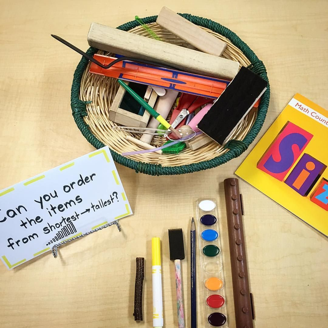 Provocation Seriation Ordering By Size With Loose Parts