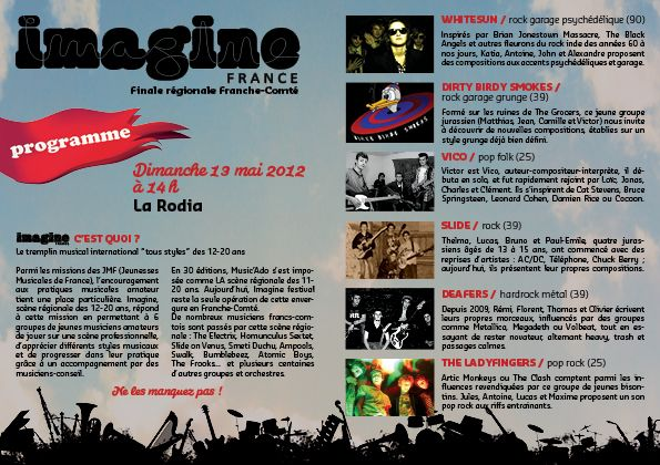 This Sunday in Besancon - France!