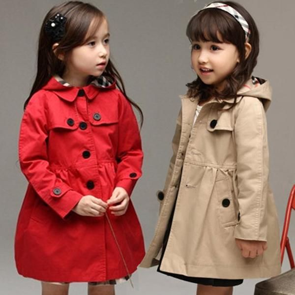 5b3e89f46df Girls Long-sleeved Windbreaker 2014 Spring Winter New Baby Foreign Trade Korean  Children Wear Long Cardigan Coat