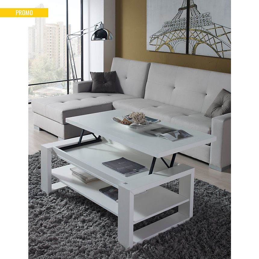 Table basse relevable Gloria pas cher - Table Basse Camif in 2019 ...