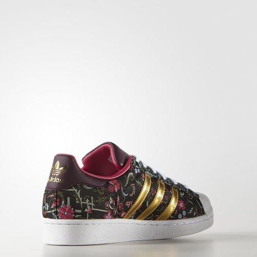 adidas Tenis Originals Superstar Mujer - Black | adidas ...