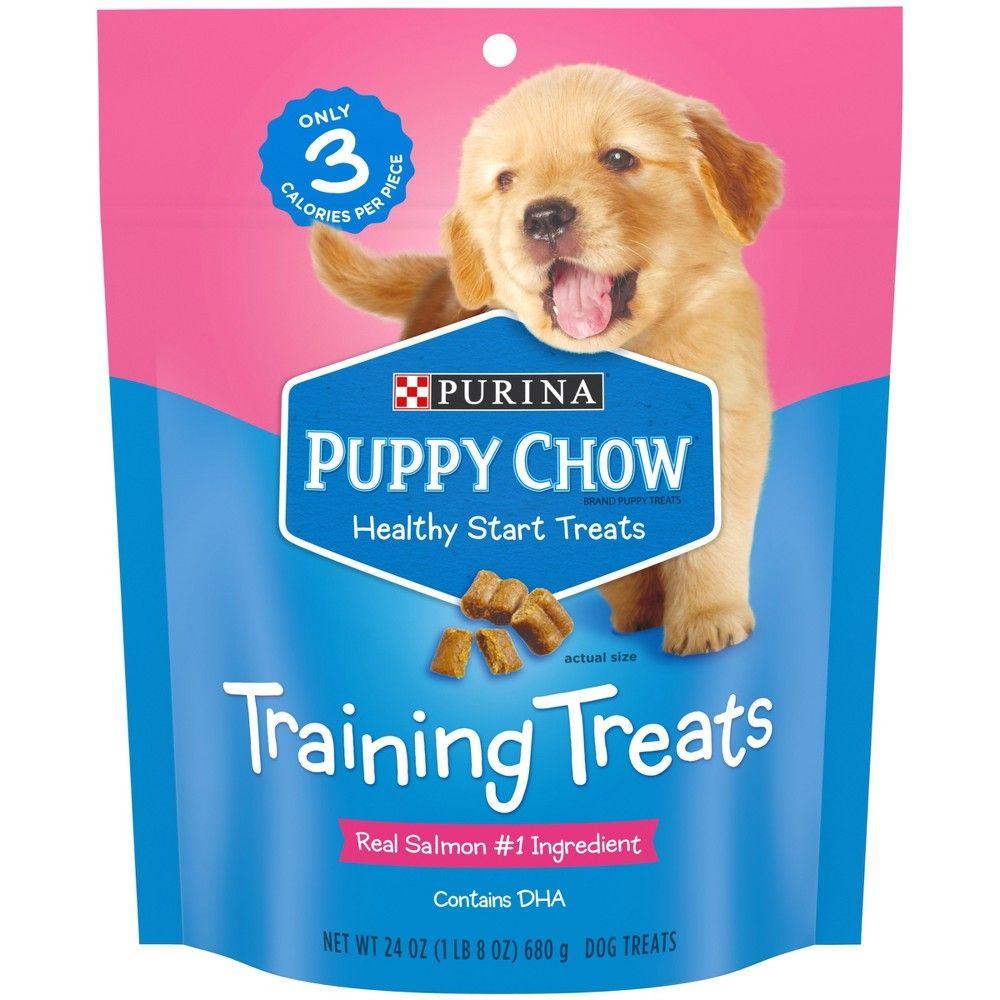 Nestle Purina Puppy Chow Training Treats Salmon 24oz In