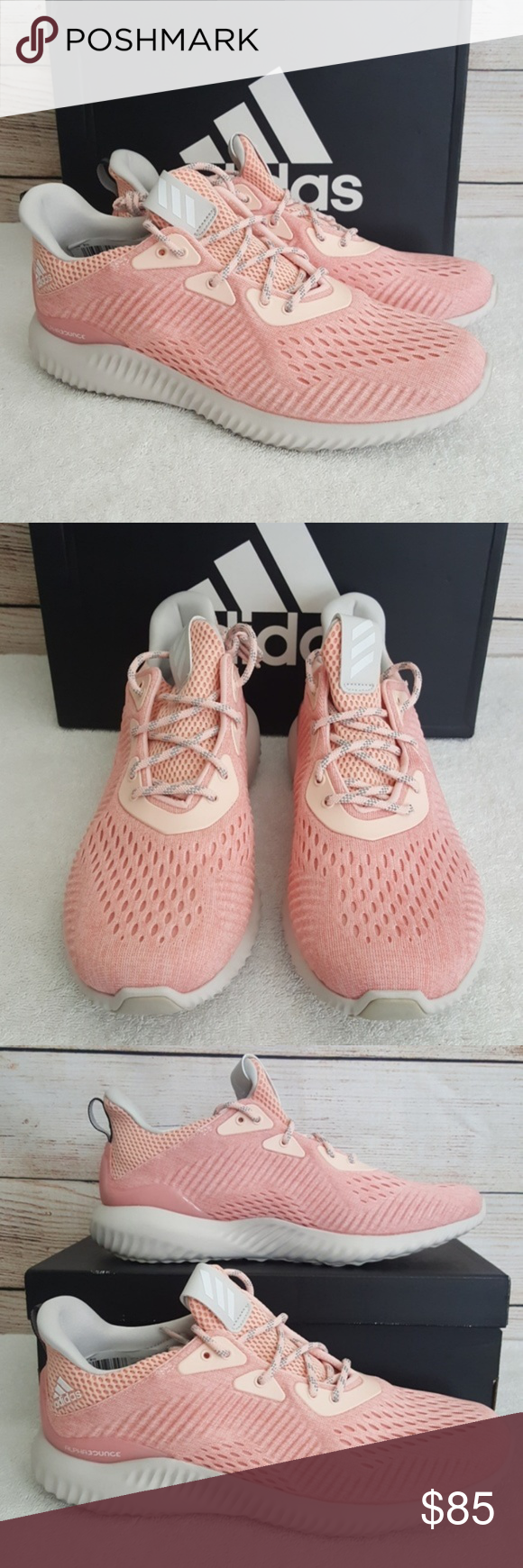 bc7e9233daa26 New adidas Alphabounce EM Sneakers New... never worn BW1195 Forged mesh  upper