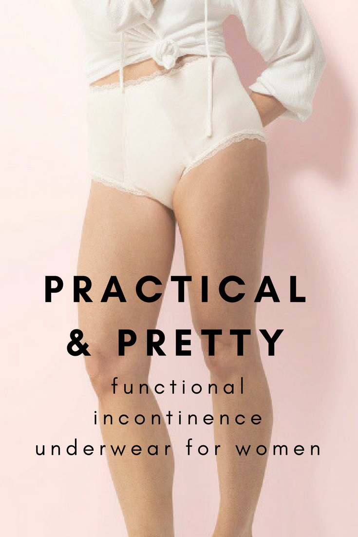 f8bd1188bdbb You can wear real underwear while dealing with incontinence. Women's  washable incontinence briefs. Pick your color and your absorbancy.