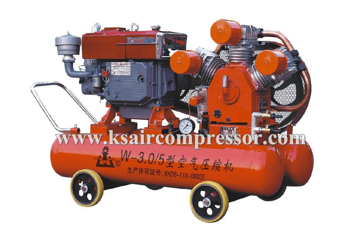 portable air compressor, piston air compressor for mining