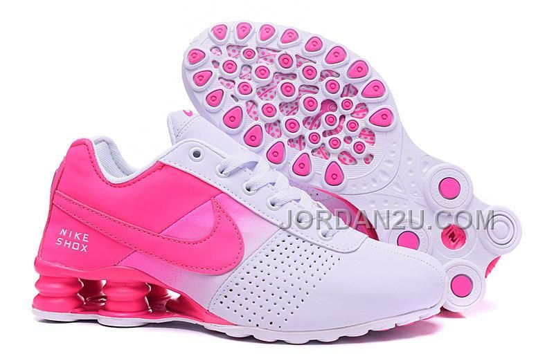 Women Shox Deliver Pink White  26e6de785b