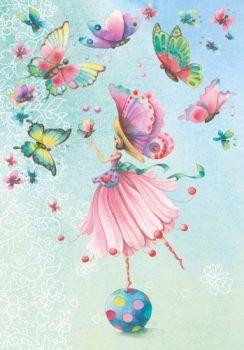 La danse des papillons (48 pieces)
