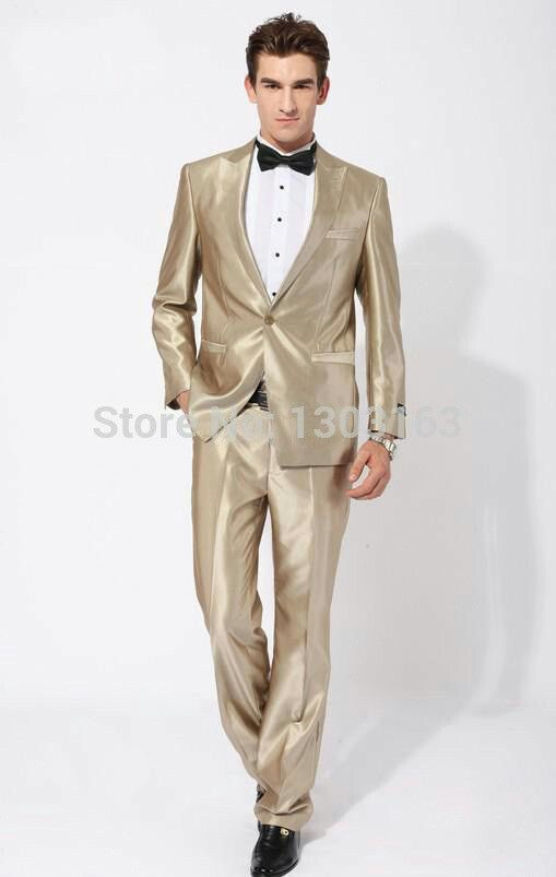 Groom Best Man White And Gold Wedding Suit Ideas For Men | suits/men ...
