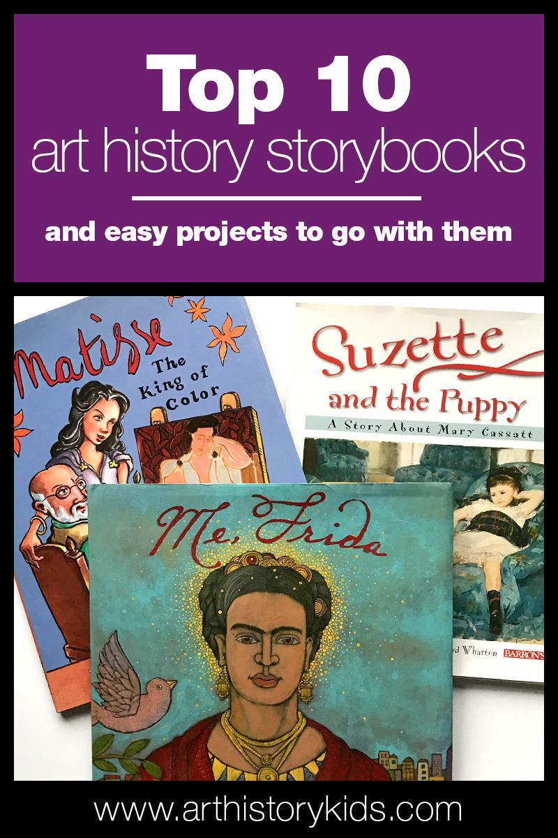 Photo of Top Ten Art History Storybooks for Kids — Art History Kids