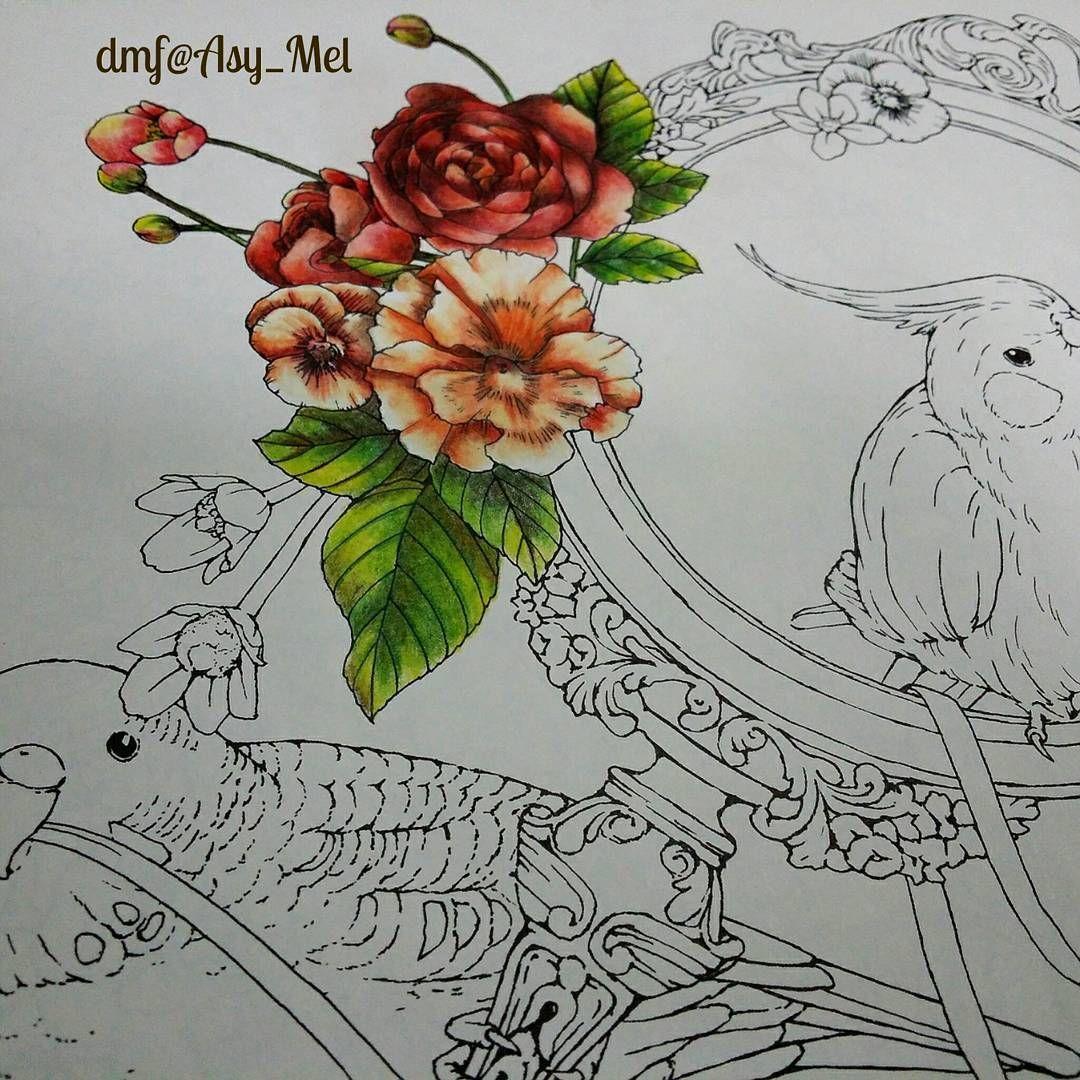 New page in progress Menuet de Bonheur by Kanoko Egusa