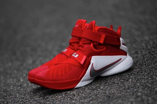 online store 31c2c 4dd29 Nike LeBron Zoom Soldier 9 Ohio State 3