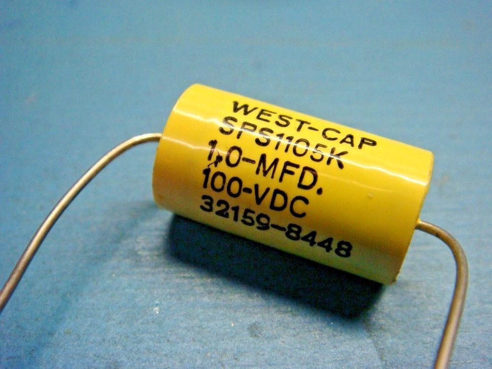 5 West Cap Sps1105k 1 0uf 1 0mfd 100v Axial Film Capacitor Audio Diy Audio Projects Capacitors Audio