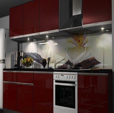 Küchenrückwand Klebefolie Möbel  Wohnen Kuechenrueckwand Folien