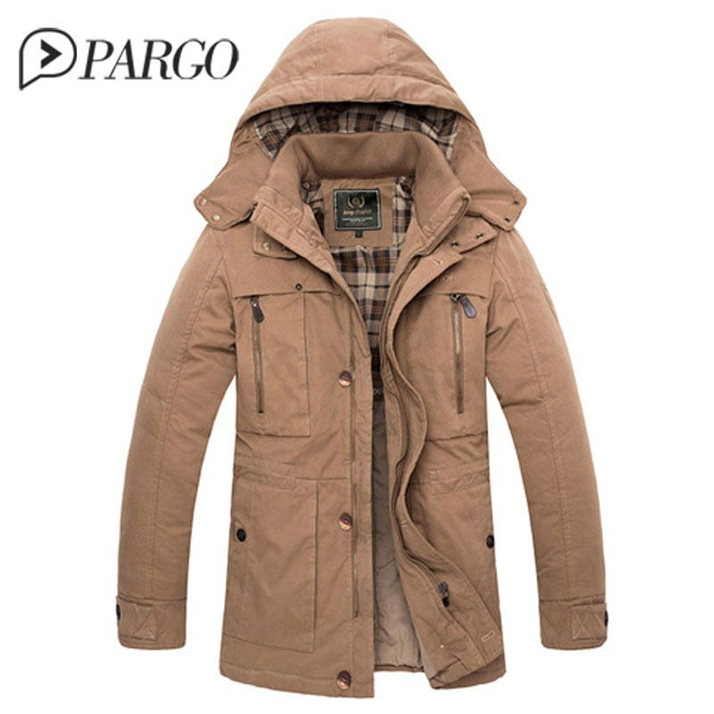 d83a8d0c592 black friday mens jacket casual Men Army Military coat winter Outerwear  College Military cutton Jackets Slim Warm Overcoat 1577